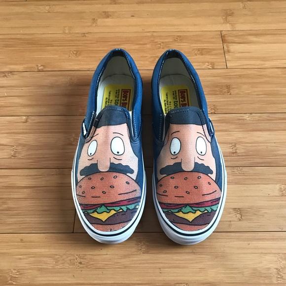 Vans Shoes   Bobs Burgers X Vans Mens 9